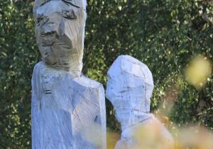Bild: Sabine Kanzler - Skulpturen zumTassilo Prozess
